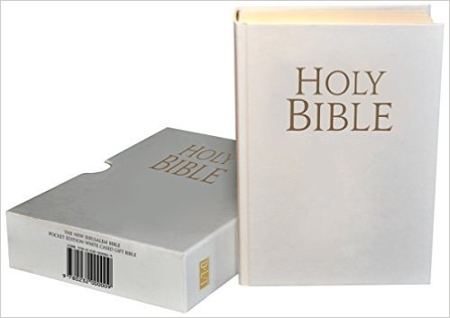 New Jerusalem Bible, Pocket Cased White Gift