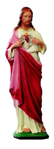 Unbreakable Large Statue of Sacred Heart (60cm)