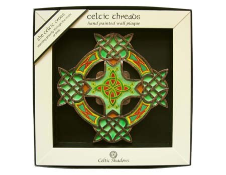 Celtic Cross Wall Plaque - Celtic Threads