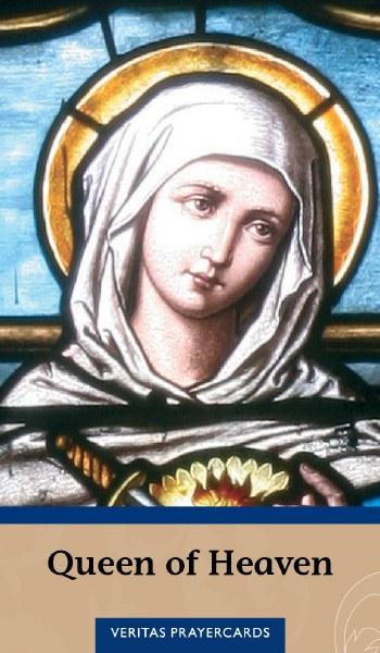 Queen of Heaven Prayercard