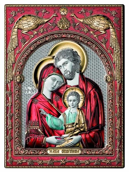 Holy Family Colour Icon (30 x 25 cm)