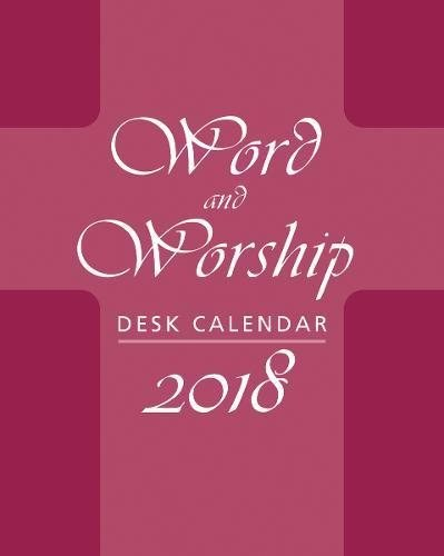 2018 Word and Worship Desk Calendar