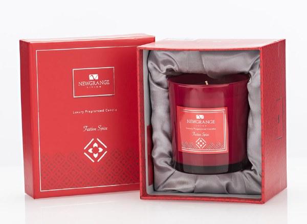 Festive Spice Luxury Candle