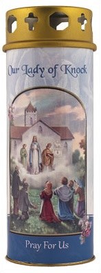 Our Lady of Knock Windproof Candle