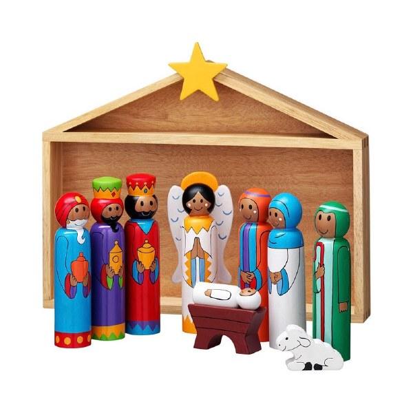 First Noel Children's Wooden Nativity Set
