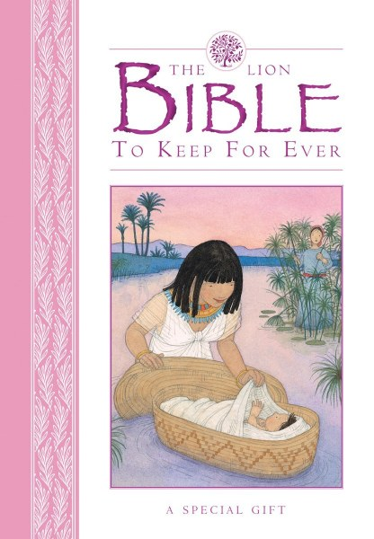 Lion Bible to Keep for Ever (Pink): A Special Gift