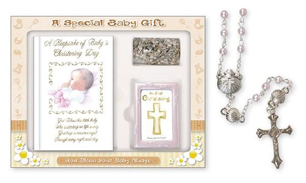 Baby Girl Christening Gift Set