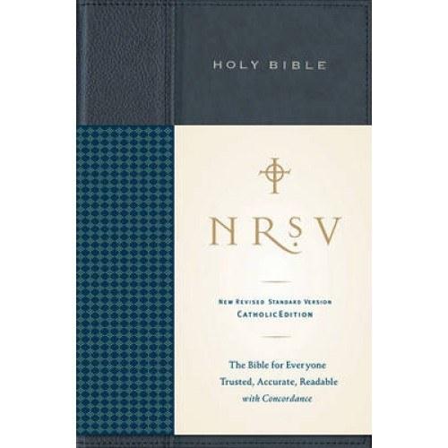 NRSV Standard Catholic Bible, Anglicized
