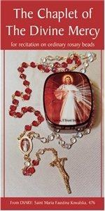 The Chaplet of Divine Mercy, foldout leaflet