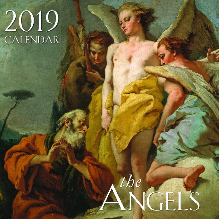 2019 The Angels Wall Calendar