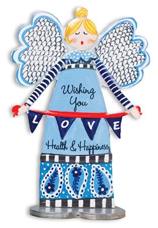 Wishing You Love Artmetal Angel 13cm