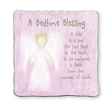 A Bedtime Blessing Girl 13 x 13 cm