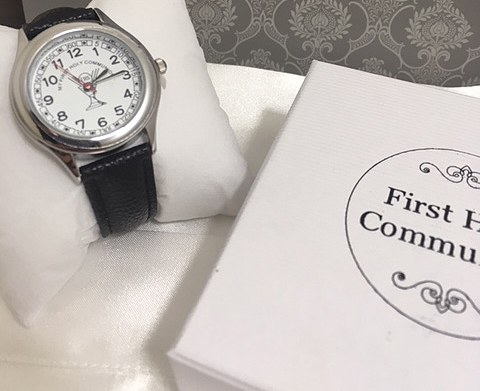 Black First Holy Communion Watch