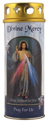 Divine Mercy Windproof Cap Candle