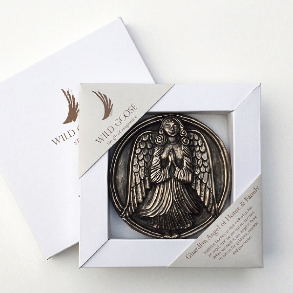 Guardian Angel of Home and family Boxed