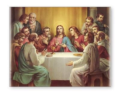 Last Supper Canvas (30 x 40cm)