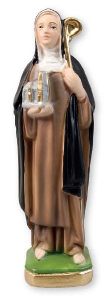 Plaster Statue of St Brigid (20cm)
