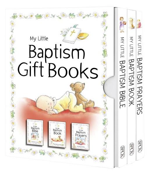 My Little Baptism Books, boxed gift set