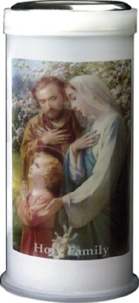 Holy Family Pillar Candle