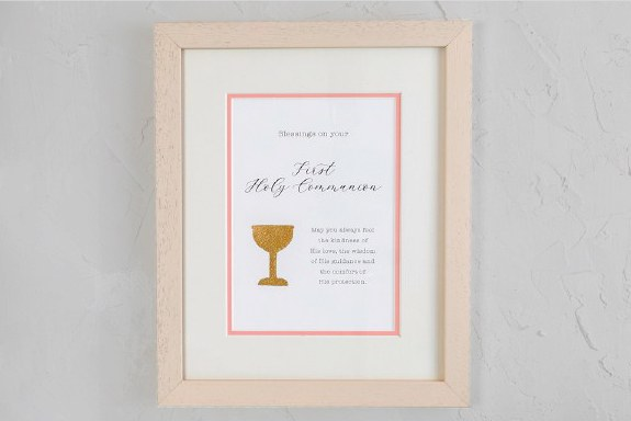 A Special Day Girls First Holy Communion Frame