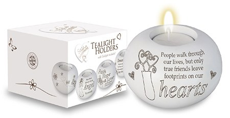 True Friends Candle Holder and Candle