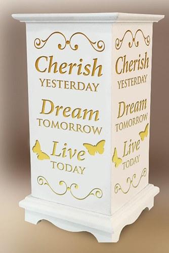Cherish Dream Live LED Wood Lantern