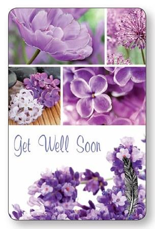 Get Well Soon Laminated Prayer Leaflet