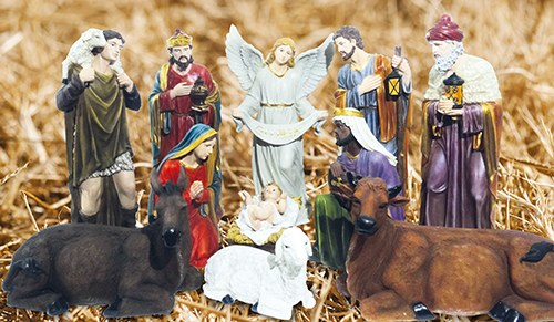 11 Piece Outdoor Nativity Set (100cm)