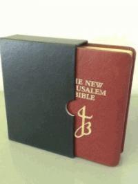 New Jerusalem Bible Red Leather