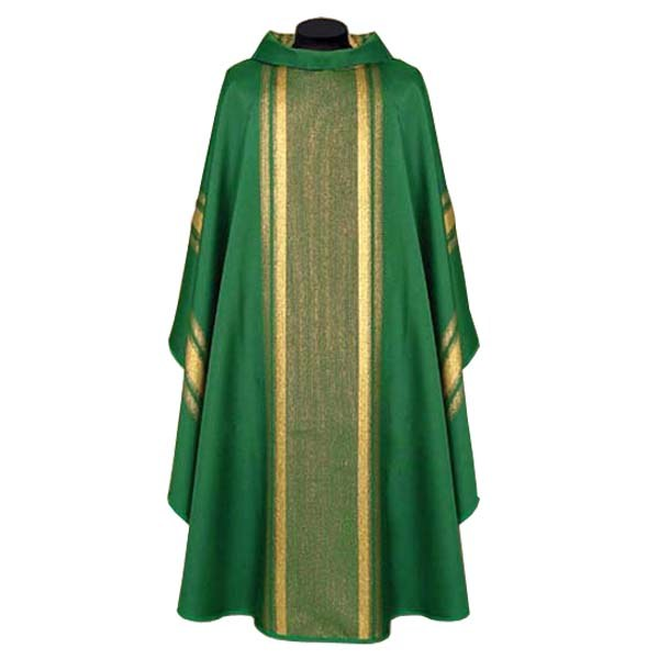 Green and Gold Chasuble