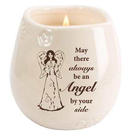 Always An Angel Candle in Stonewear Jar (9cm)