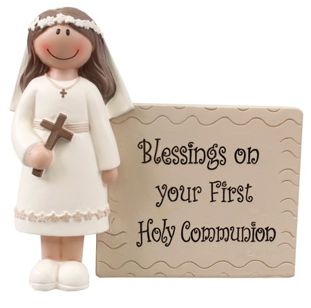 Girl Blessings on Your First Holy Communion