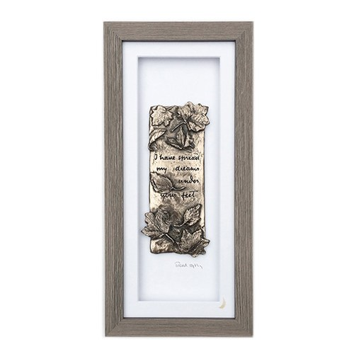 Tread Softly (Grey Frame) - Wild Goose Art