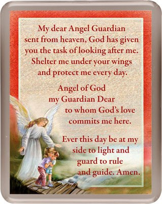 Guardian Angel Fridge Magnet