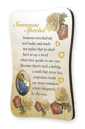 Someone Special Wood Fridge Magnet