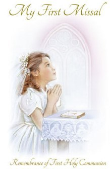 Girl Paper Back First Holy Communion Prayer Book