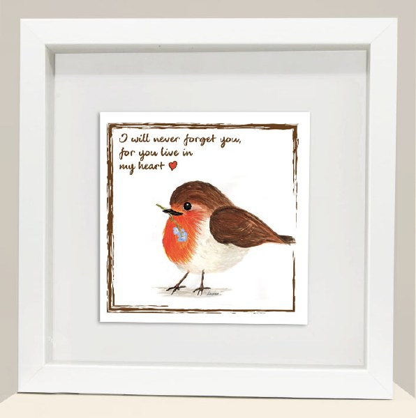 RC006 Live In My Heart Red Robin Frame