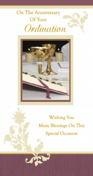 Ordination/Anniversary Card