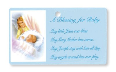 Blue Baby Blessing