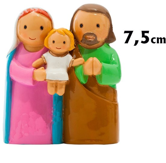 Holy Family Statue (7.5cm)