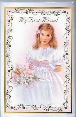 My First Missal For Girls for Holy Communion