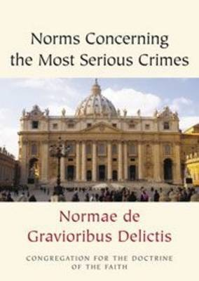 Norms Concerning the Most Serious Crimes