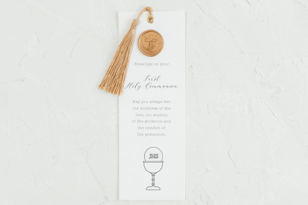 A Special Day First Holy Communion Bookmark