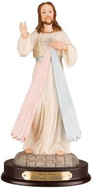 Divine Mercy Resin Statue (30cm)