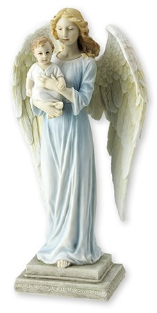 Veronese Angel and Child Statue (26cm)