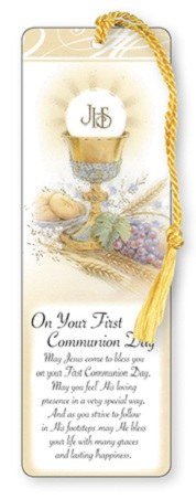 First Holy Communion Symbolic Bookmark