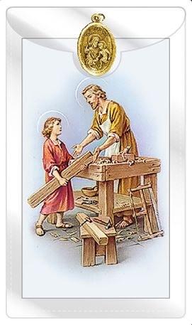 St Joseph for Employment Prayercard