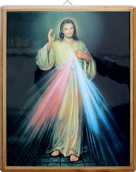 Divine Mercy Icon (26 x 22cm)