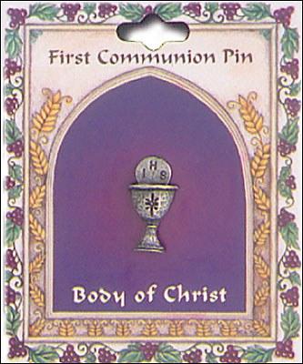 First Communion Chalice Brooch