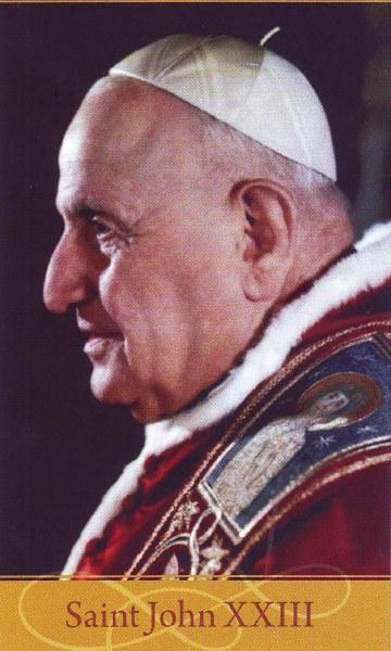 Saint John XXIII Prayer card